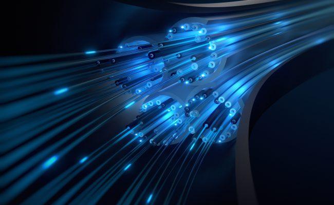 Kabel Daten Glasfaser Querschnitt